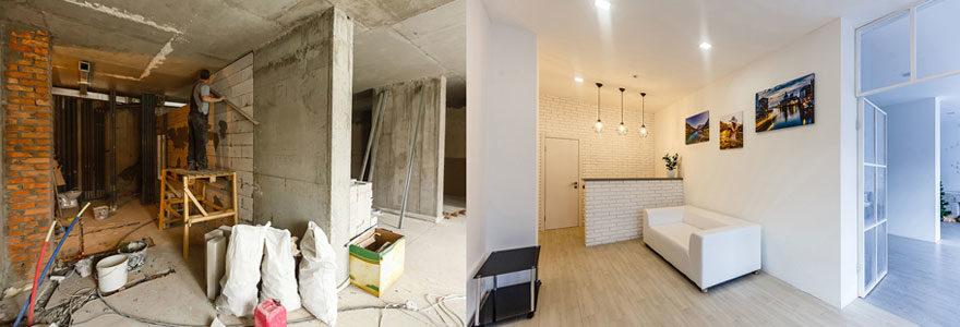Réaliser tous types de travaux de rénovation