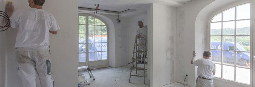 Rénovation de bâtiment