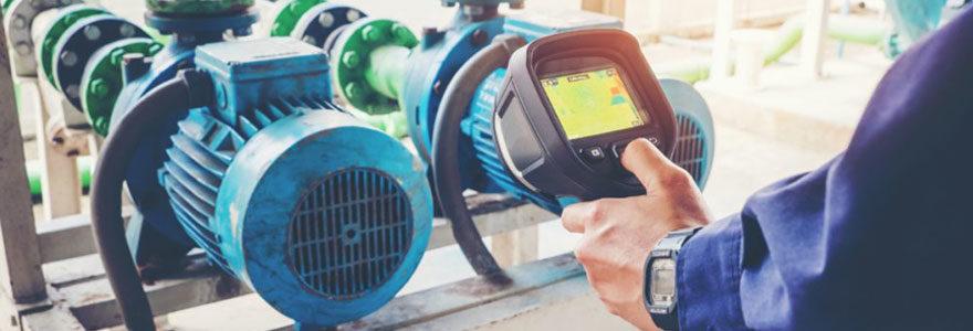 Détecteur de fuite thermique