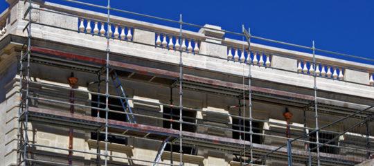 rénovation du bâtiment